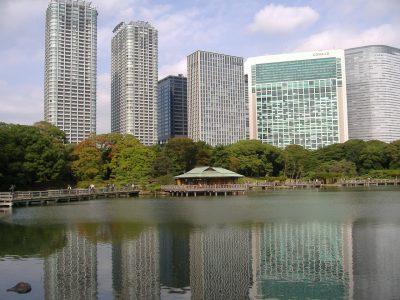 The Hamarikyu Gardens | Tokyo