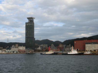 Moji Port in Kitakyushu, Japan