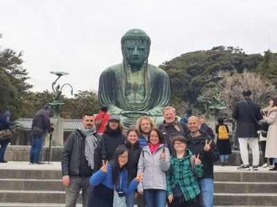 Great Buddha at the Kotokuin temple in Kamakura, Japan