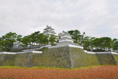 Shimabara castle in Nagasaki, Japan