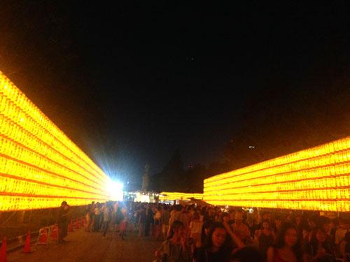 Lanterns at the Mitama Matsuri festival in the Yasukuni Shrine in Tokyo, Japan