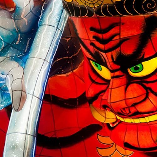 Nebuta festival, Aomori city, Japan