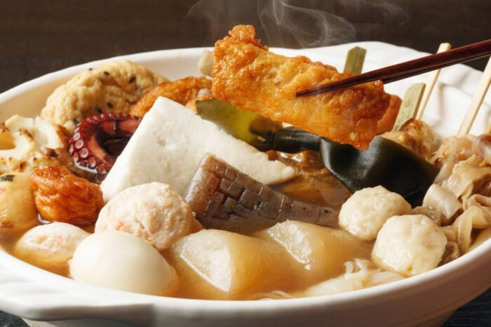 Oden, a traditional winter food in Japan