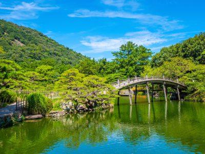 Takamatsu Ritsurin Koen park