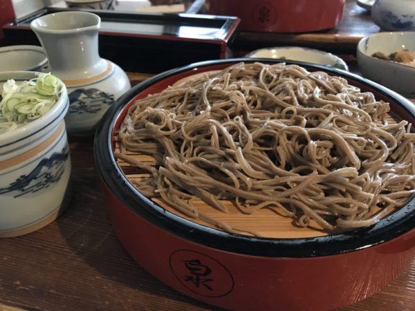 Soba, Japanese buckwheat noodles