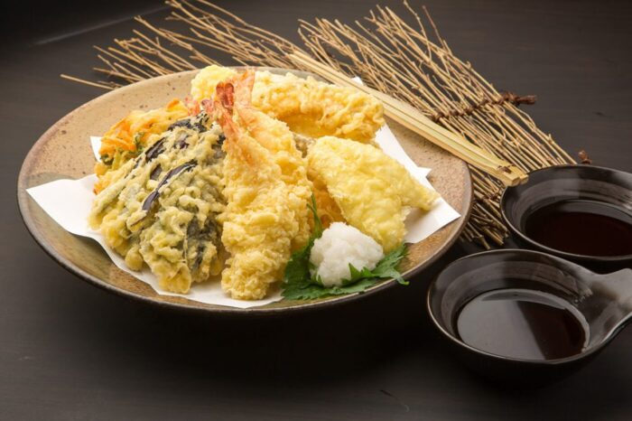 Tempura, fried Japanese food
