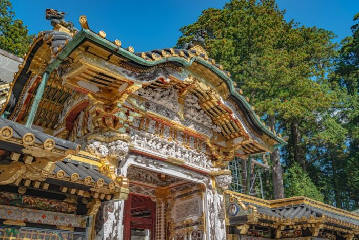 Nikko Toshogu shrine gate