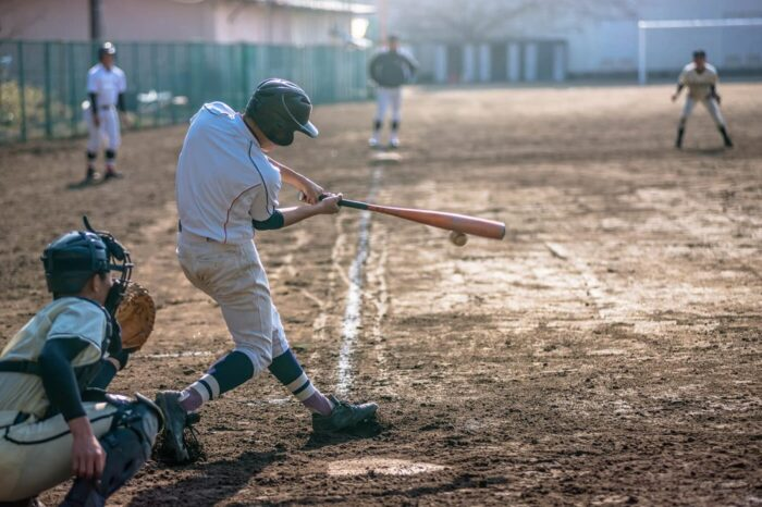 Baseball hitter in Japan