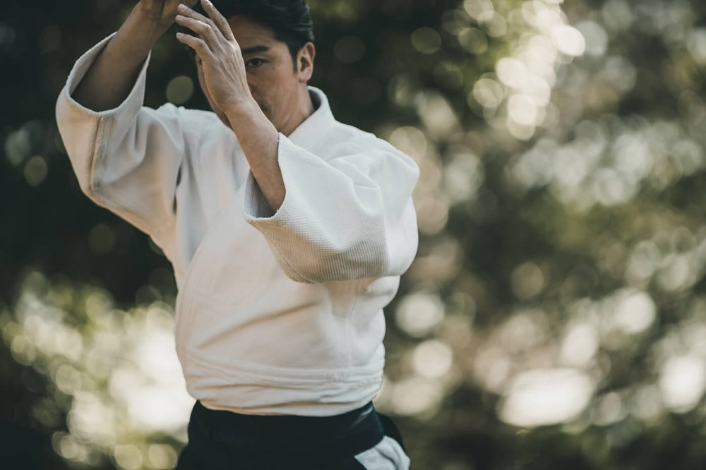 Karateka in Japan