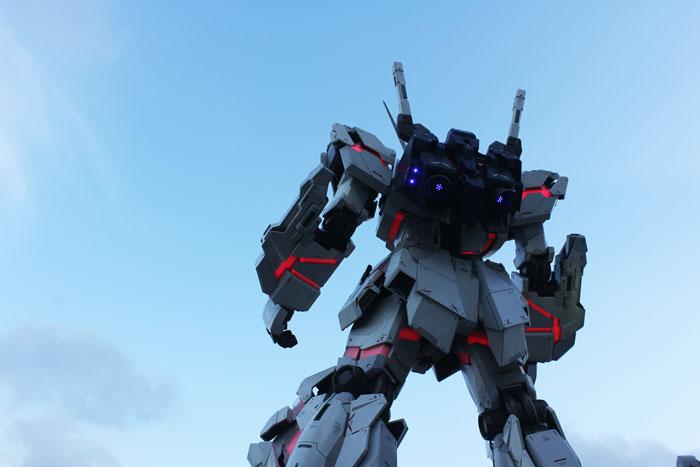 Gundam statue in Odaiba, Tokyo