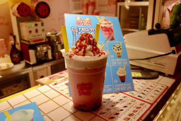 A tapioca drink in Harajuku, Tokyo, Japan