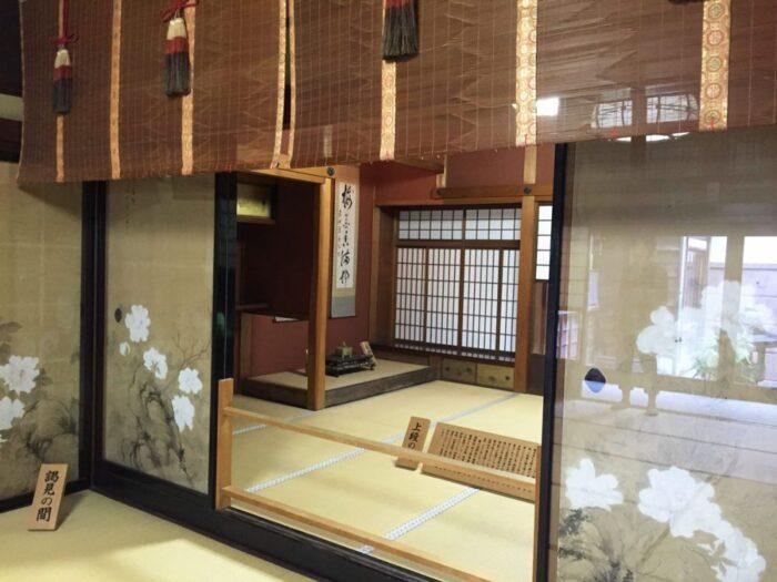 Interior of Nomura Clan Samurai Home in Kanazawa, Japan