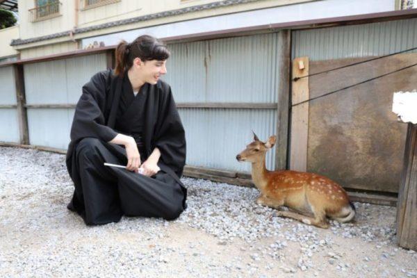 man in kimono