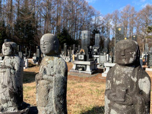 Jizo statues in Japan