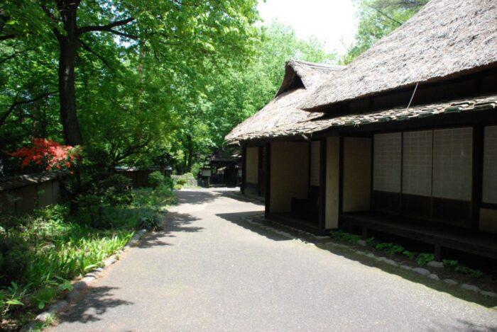 Traditional house in Mikazukimura, Gunma, Japan