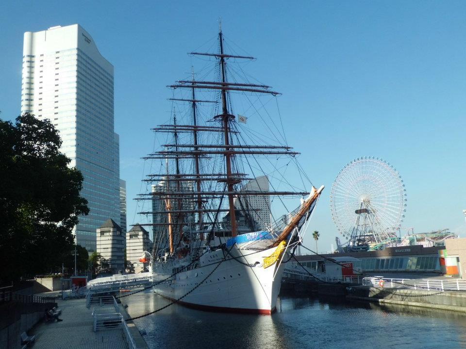 Nippon Maru ship Yokohama