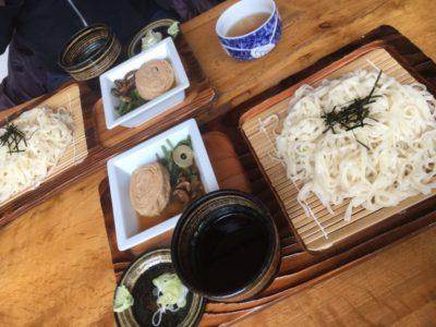 Traditional soba restaurant in Nikko, Japan