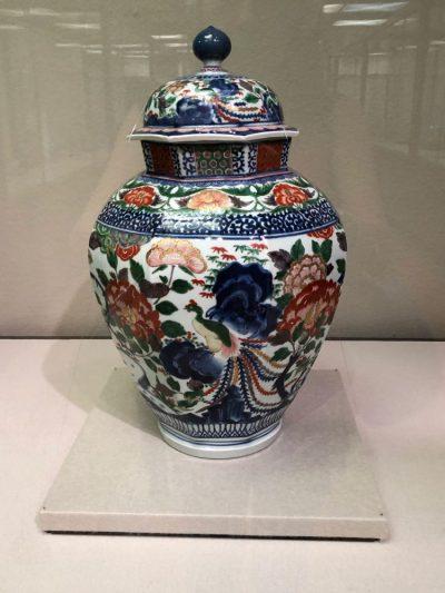 Arita porcelain vase