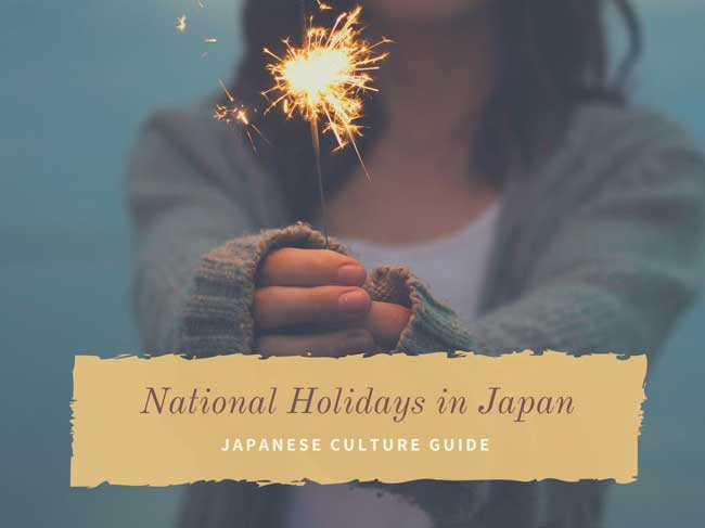 National holidays in Japan