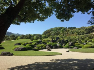 Garden of the Adachi Museum of Art in Sanin, Japan