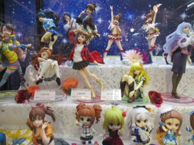 anime figurines in Japan