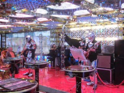 Robot Restaurant lounge