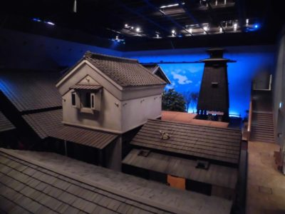 Indoor exhibition of Fukagawa Edo Museum in Tokyo, Japan