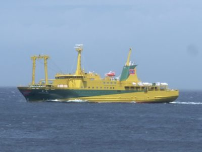 Ferry to Izu Seven Isalands