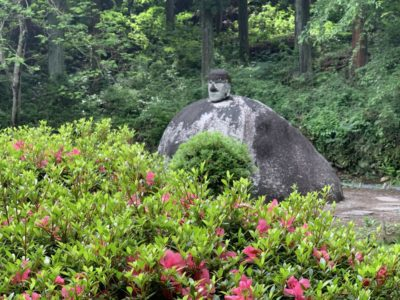 Suwa Daibutsu in Nagano, Japan