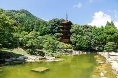 Rurikoji Temple in Yamaguchi city, Japan