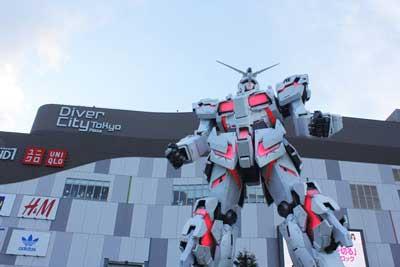 Unicorn Gundam Statue | Anime | Tokyo