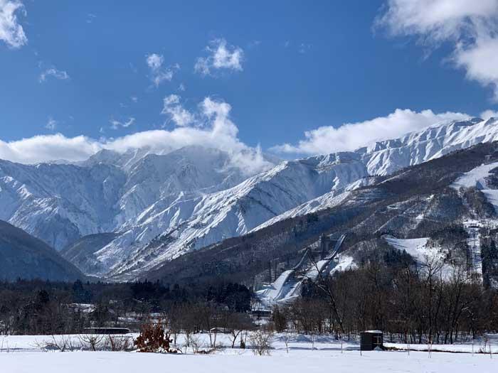 Hakuba ski resort in Nagano, Japan