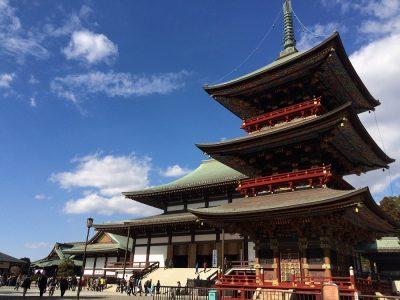 Shinshoji temple in Narita city, Japan