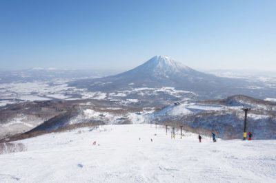 Niseko ski resort in Hokkaido, Japan