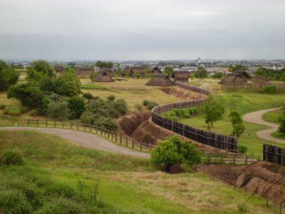 Yoshinogari archaeological site in Saka, Kyushu, Japan