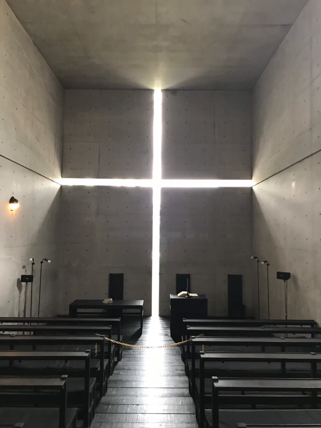 The Church of the Light in Osaka