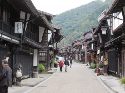 Narai post town in Nagano, Japan