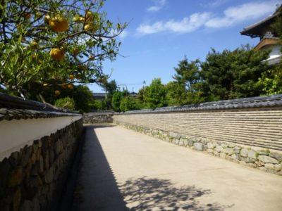 Hagi Old Town in Yamaguchi, Japan