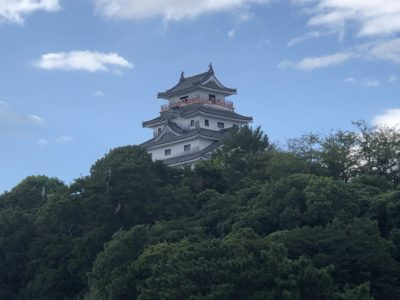 Karatsu castle in Saga, Japan