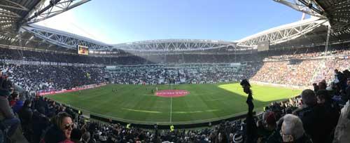 Soccer stadium in Japan
