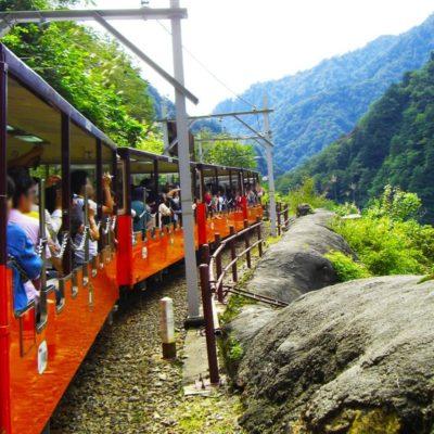 Kurobe Gorge Train, Toyama
