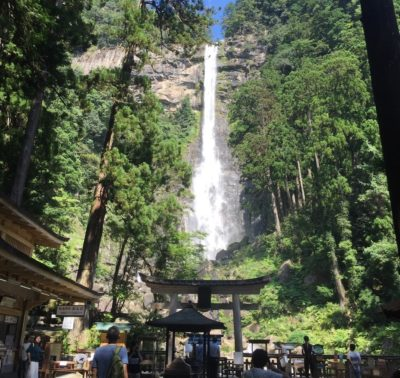 The Nachi waterfall you can see on the Kumano Kodo