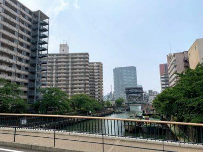 Apartment buildings in Tokyo Japan