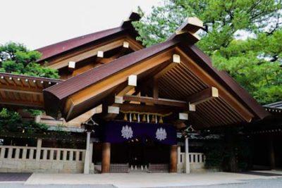 Astuta shrine in Nagoya, Japan