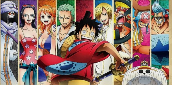 Characters of anime and manga One Piece from Japan
