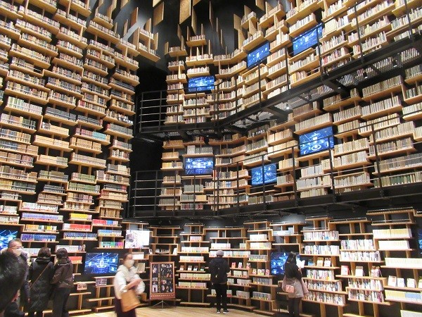 Bookshelf Theater of Tokorozawa Sakura Town