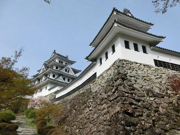 Gujo Hachiman Castle in Gifu, Japan