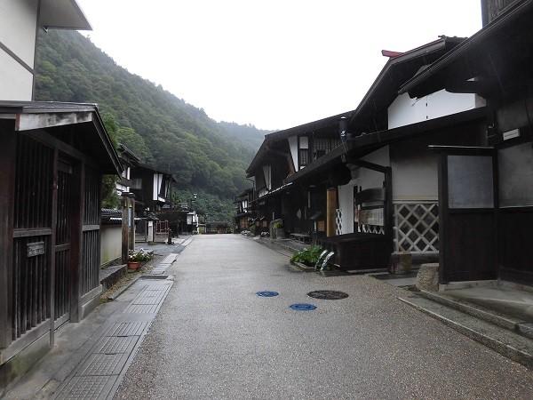 Old town of Kiso-Fukushima in Japan